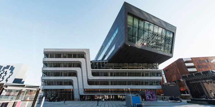 Open Campus, WU Wien Eröffnungsfeier Christof Wagner creative commons
