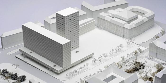 Foto Architekturmodell EG-WertInvest Hotelbeteiligungs GmbH Pressemappe