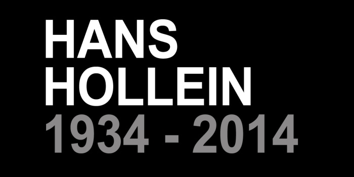 hans hollein 1934 - 2014
