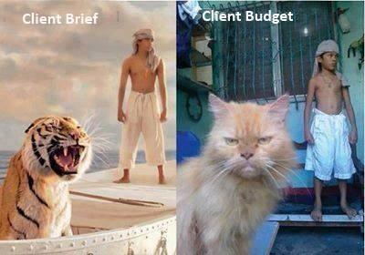 Client Brief - Client Budget by Wolf D. Prix